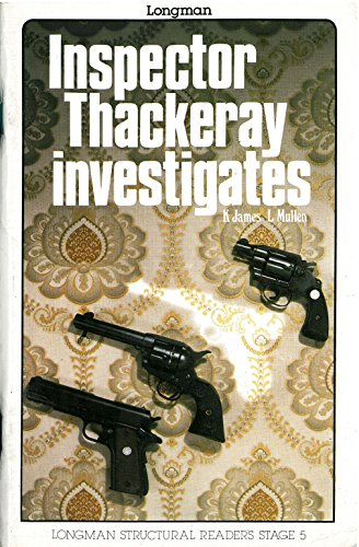 9780582537743: Inspector Thackery Investigates (Structural Readers)