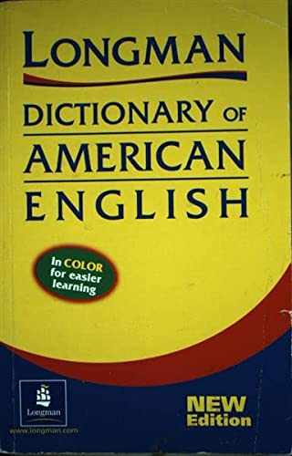 9780582539372: Longman Dictionary of American English (Longman Dictionary of Amer English)