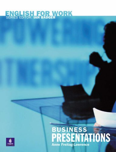 9780582539600: English for Work: Business Presentations