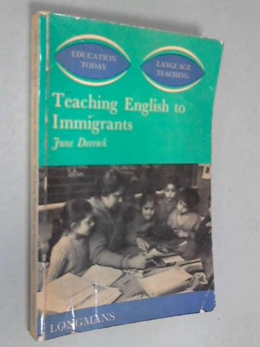 Teaching English to Immigrants.