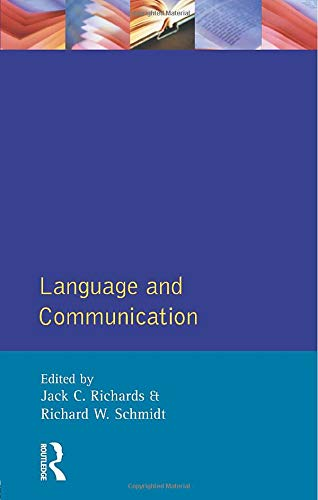 9780582550346: Language and Communication (Applied Linguistics and Language Study)