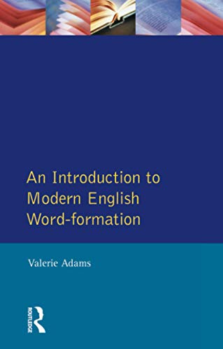 9780582550421: An Introduction to Modern English Word-Formation (English Language)
