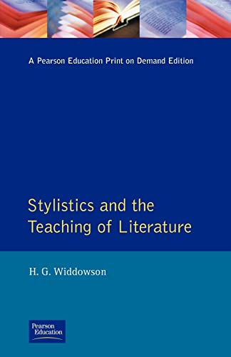 Stylistics and the Teaching of Literature (Applied Linguistics & Language Study)