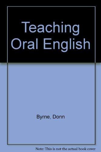 9780582550810: Teaching Oral English (Longman Handbooks for Language Teachers S.)