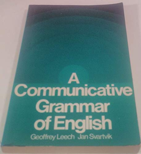9780582552388: A Communicative Grammar of English