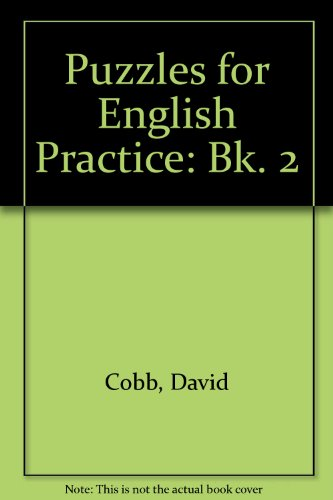 9780582552586: Puzzles for English Practice: Bk. 2