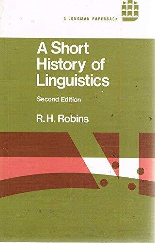 9780582552883: Short History of Linguistics (Linguistics Library)