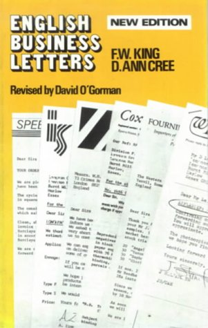 9780582553538: English Business Letters