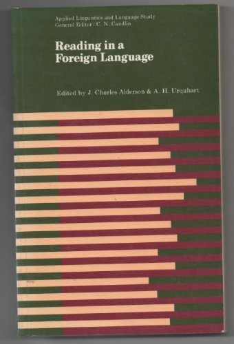 9780582553729: Reading in a Foreign Language (Applied Linguistics and Language Study)
