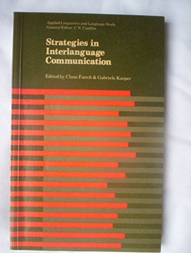 9780582553736: Strategies in Interlanguage Communication (Applied Linguistics and Language Study)