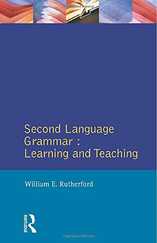 9780582553750: Second Language Grammar: Learning and Teaching (Applied Linguistics and Language Study)