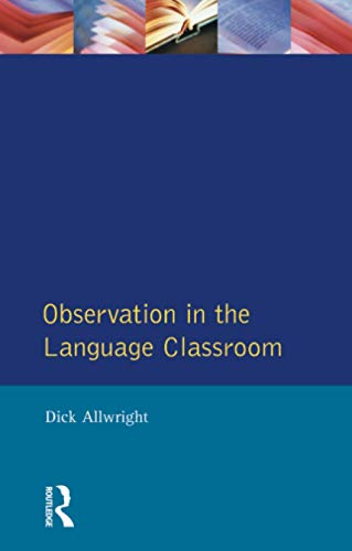 9780582553767: Observation in the Language Classroom (Applied Linguistics and Language Study)