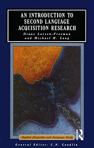 An Introduction to Second Language Acquisition Research (Applied Linguistics and Language Study)