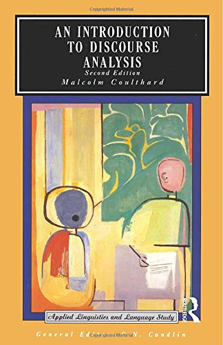 9780582553798: An Introduction to Discourse Analysis (Applied Linguistics and Language Study)