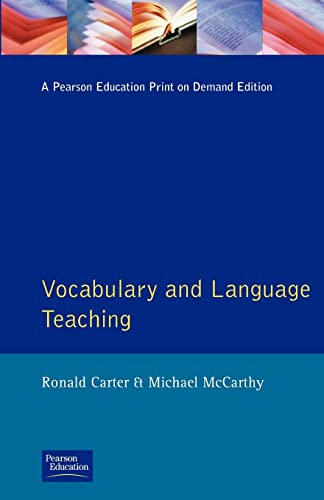 9780582553828: Vocabulary and Language Teaching (Applied Linguistics and Language Study)