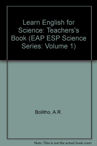 9780582554825: Learn English for Science (Vol 1)