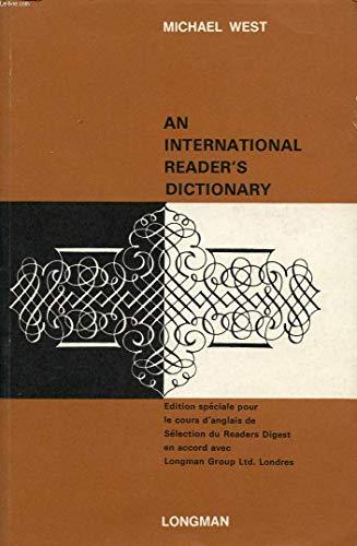 9780582555358: International Reader's Dictionary