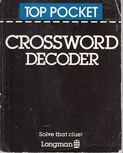 9780582555471: Top Pocket Crossword Decoder (Longman top pocket series)