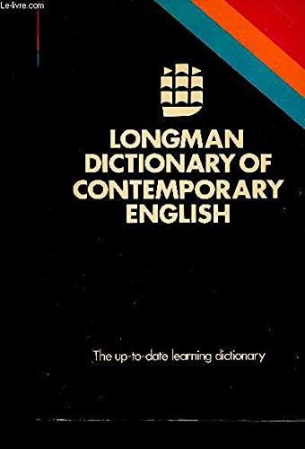 9780582556089: Longman Dictionary of Contemporary English