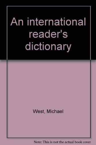 9780582556096: An international reader's dictionary