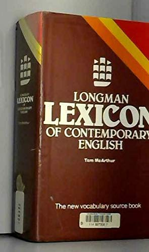 9780582556362: Longman Lexicon of Contemporary English
