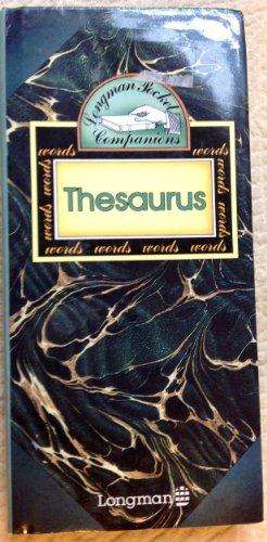 9780582556515: Thesaurus of English Words and Phrases (Pocket Companion)