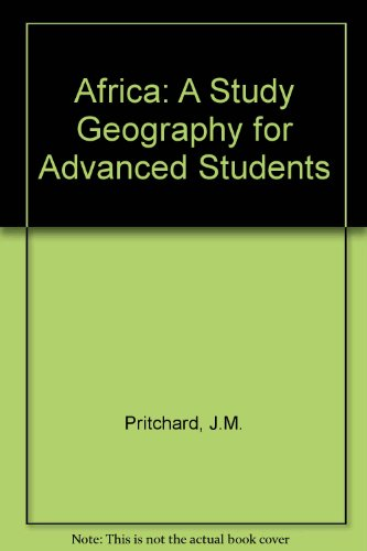 9780582602182: Africa: A Study Geography for Advanced Students