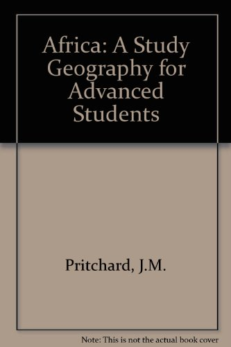 9780582602656: Africa: A Study Geography for Advanced Students