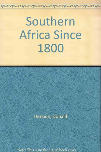 9780582603202: Southern Africa Since 1800