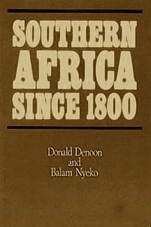 9780582603219: Southern Africa Since 1800