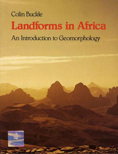 9780582603349: Landforms in Africa: An Introduction to Geomorphology