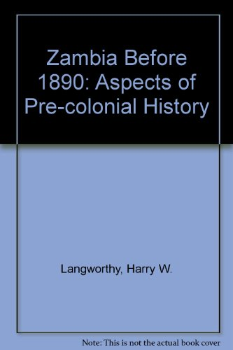 9780582641020: Zambia Before 1890: Aspects of Pre-colonial History
