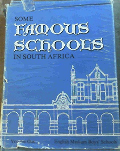 9780582641266: Some famous schools in South Africa