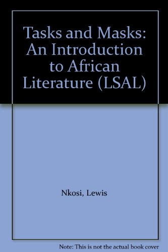 9780582641457: Tasks and Masks: An Introduction to African Literature (LSAL)