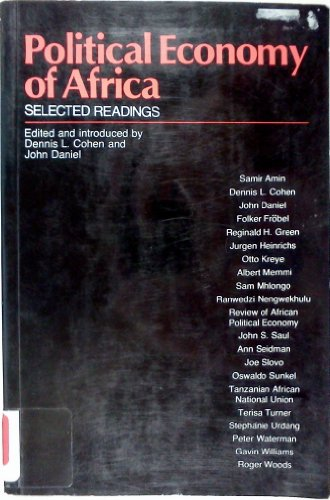 9780582642850: Political Economy of Africa: Selected Readings