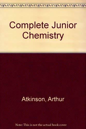 9780582692077: Complete Junior Chemistry