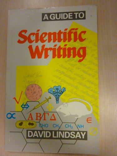9780582711327: A Guide to Scientific Writing: Manual for Students and Research Workers