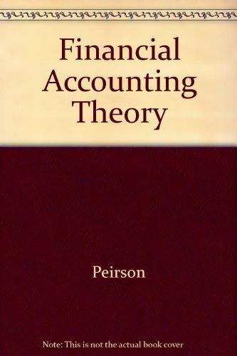 9780582714823: Financial Accounting Theory