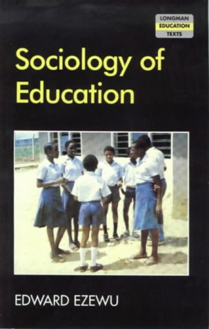 9780582727007: Sociology of Education