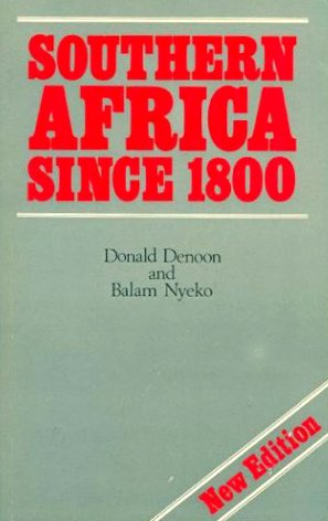 9780582727076: Southern Africa Since 1800