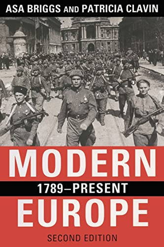 9780582772601: Modern Europe, 1789-Present