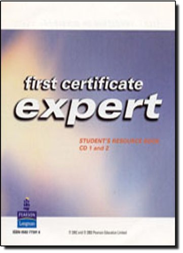 9780582773011: First Certificate Expert: Students' Resource Book Audio CD