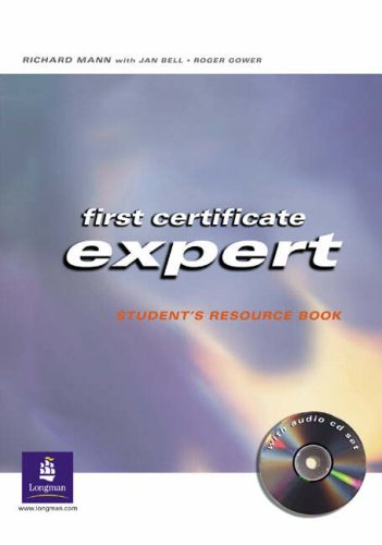 9780582773028: First Certificate Expert Student Resource Book No Key and CD Pack