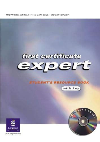 9780582773042: First Certificate Expert Student Resource Book with Key for Pack