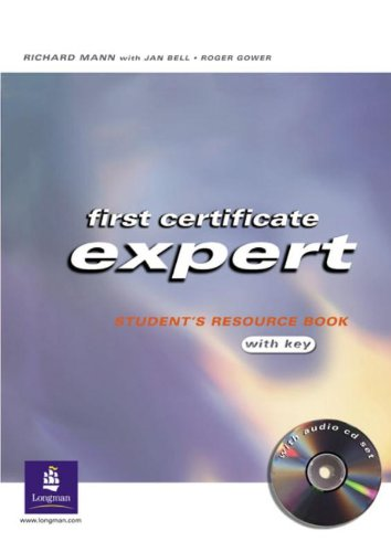 9780582773059: First certificate expert student's resource book. With key. Con CD Audio. Per le Scuole superiori: Workbook with Key