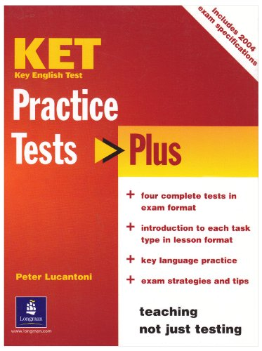 9780582773585: KET Practice Tests Plus: Student's Book