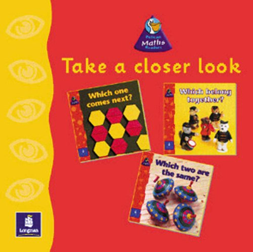 9780582774797: Take a Closer Look Theme Pack: Reception (PELICAN MATHS READERS)