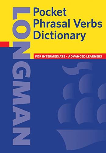 9780582776425: Longman Pocket Phrasal Verbs Dictionary