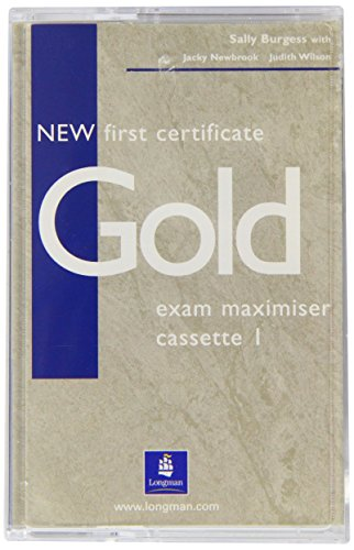 9780582777224: New First Certificate Gold (GOLD)