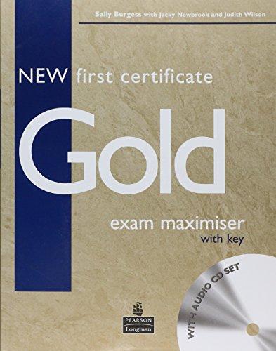9780582777248: New first certificate gold exam maximiser. With key. Con CD Audio. Per le Scuole superiori
